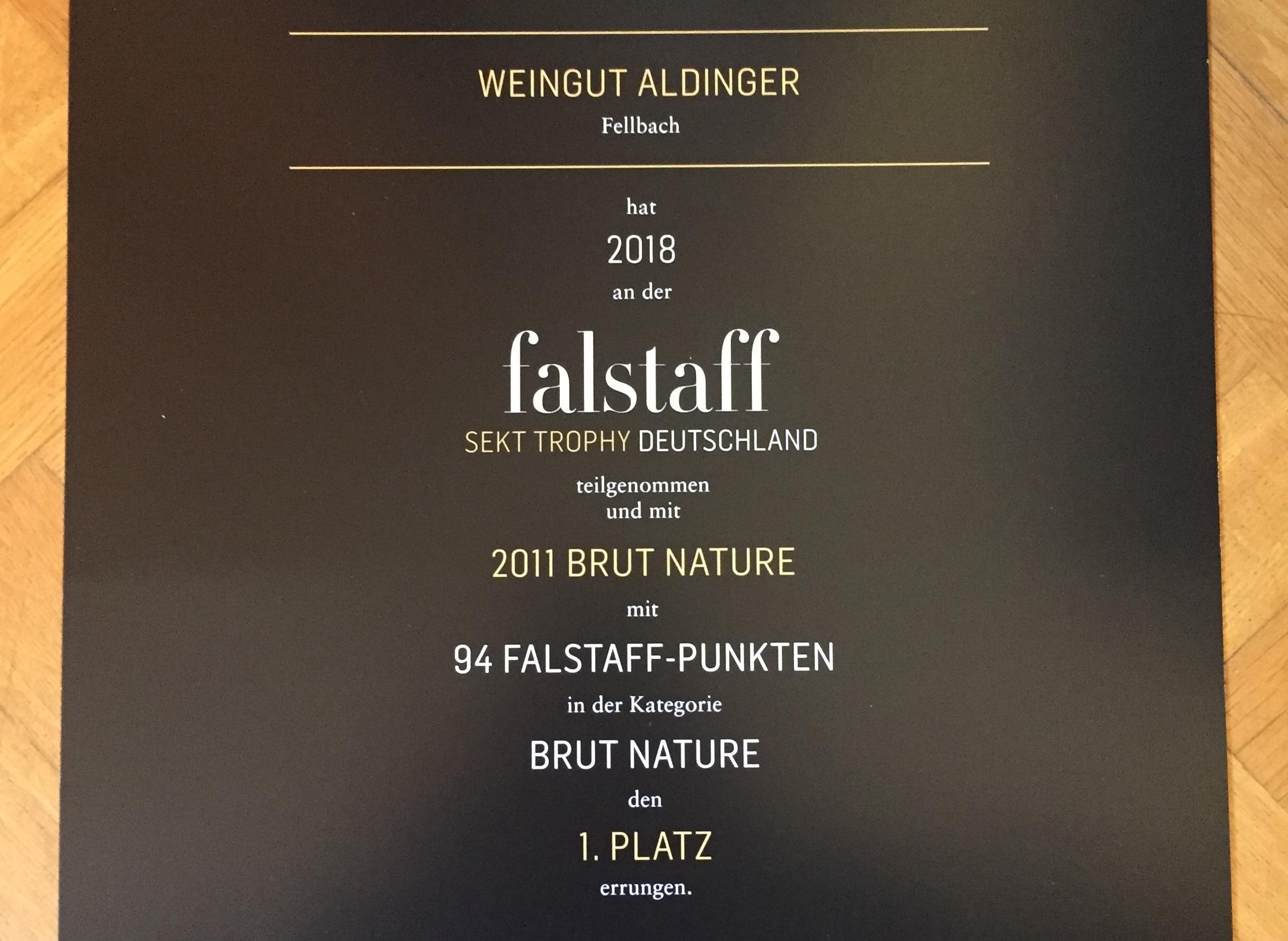 FALSTAFF 2018 2011 BRUT NATURE